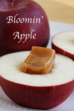 This takes seconds in the microwave and is a fun way to make an apple a bit more interesting. Check out the post for exact instructions