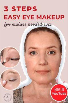 Simple Eye Makeup, Natural Eye Makeup, Eye Makeup Tips, Skin Makeup, Makeup Tricks, Makeup Brush, Makeup Tutorials, Eyeshadow Makeup, Beauty Makeup