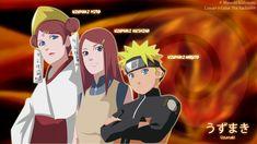 Mito Kushina the Uzumaki clan Anime Naruto, Naruto Uzumaki Clan, Uzumaki Family, Naruto Family, Naruto Shippuden Anime, Hinata, Wallpaper Naruto Shippuden, Naruto Wallpaper, Naruhina