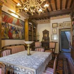 Restored Century Castle near Siena - Casa Tuscany Beautiful Pools, Beautiful Castles, Living Area, Living Spaces, Castle House, Attic Rooms, Surface Area, 12th Century, Entrance Hall