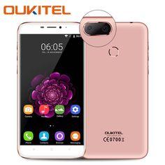 Oukitel u20 plus 5.5 cal 4g smartphone android quad core 2 gb ram 16 GB ROM Android 6.0 13MP Komórka Telefon Komórkowy Dual SIM GPS WiFi