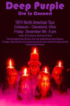 Deep Purple 1974 Cleveland