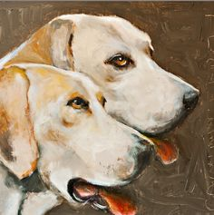 """Henderson Hounds 24"""" x 24"""" SOLD"""