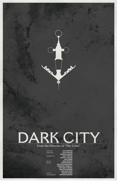 Dark City Poster 2: Science Fiction Cult Movie Poster - 11x17 Vintage Art Print. $18.00, via Etsy.