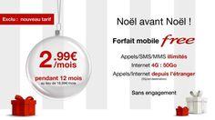Bon Plan : Free propose son forfait mobile Free de 50Go à 2,99€/mois ! - Le Journal du Geek
