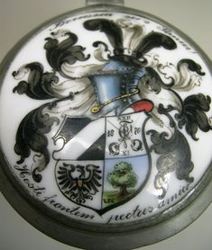Studentika. Corps Borussia Tübingen (KSCV). Bierkrug. 1899 | eBay