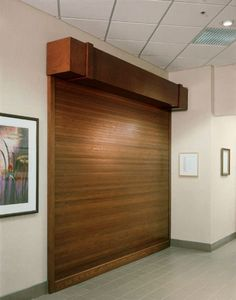 We Have The Largest Inventory Of Woodfold Accordion Custom Roll Up Doors.  Used For