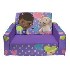 doc mcstuffins bedroom | ... & Little Kids' Marshmallow Flip Open Sofa with Doc McStuffins Theme