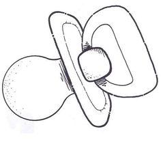 moldes de cigueña para baby shower en goma eva - Buscar con Google