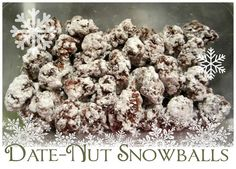 Date Nut Snowballs