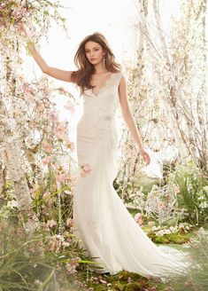 Bridal Gowns, Wedding Dresses by Jim Hjelm - Style jh8409