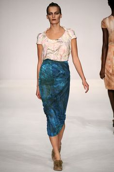 Peter Pilotto Spring 2009 Ready-to-Wear Fashion Show - Julia Dunstall