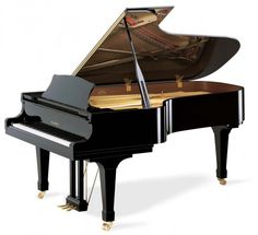 """My first grand piano.  It is a Kawai 7'6"""" Semi Concert grand.  I still am lingering and hungering for a Schimmel 9' or 9'6 though - but the space is needed...LOL."""