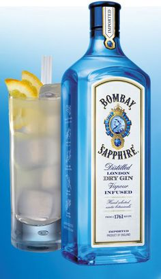 Bombay Sapphire Gin is one of the more popular premium gins. It is based on a 1761 recipe created by pioneering English distiller Thomas Dakin. While most gins steep their botanicals directly in the alcohol, Bombay uses a special Carterhead still, purchased by the Dakin family in 1831, to flavor the spirit when it's in a vapor state. It's not overwhelming on any of the botanicals, which makes it ideal for mixing into any gin cocktail.