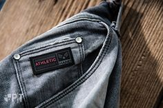 Screen printed label made in Italy by Panama Trimmings #denim #details #vintage #labeling