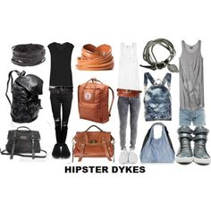 Hipster dyke style