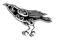 Celtic Knot Raven by Herla.deviantart.com on @deviantART
