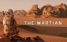 Ever wondered what would feel like to be the only person on the planet? Well, that's exactly what The Martian is about.