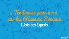 5 Tendances pour 2016 sur les Réseaux Sociaux: l'Avis des Experts I Albane Flamant