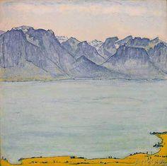 Ferdinand Hodler - Genfersee bei Chamby