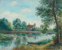 Banks of the Loing at Saint Mammes Alfred Sisley, 1892 WikiPaintings.org - the encyclopedia of painting