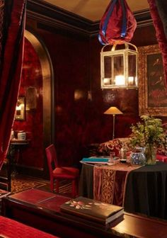 Blake's Hotel Room   The décor in the rooms is plush—expect lots of crushed velvet and jewel tones—and even a little bit escapist.