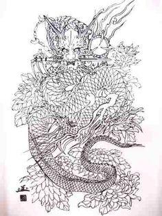 Image result for horiyoshi iii dragon