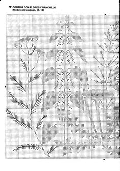Gallery.ru / Фото #4 - 30-1626 - Mosca Blackwork Embroidery, Cross Stitch Embroidery, Embroidery Patterns, Hand Embroidery, Cross Stitch Patterns, Just Cross Stitch, Cross Stitch Flowers, Fashion Sewing, Cross Stitching