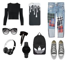 """""""Bez naslova #6"""" by almiradedic-775 ❤ liked on Polyvore featuring MANGO, Converse, Alexander McQueen, Beats by Dr. Dre, Monique Lhuillier, CLUSE and Topshop"""