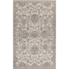 The Rugs America Riviera Vintage-Inspired Rug is certain to bring an air of sophistication to any classic or contemporary design space. This rug features a vintage-inspired floral motif, and is specially power-loomed for a slightly textured feel. Cream Area Rug, Beige Area Rugs, Oriental Design, Oriental Rug, Light Blue Area Rug, Carpet Stains, Weaving Techniques, Soft Colors, Floral Motif