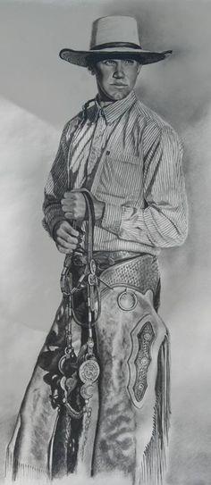 Cowboy by Steve Johnson Art