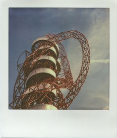 Orbit tower, Olympic Park, London / Impossible Project film