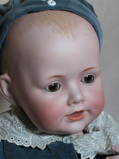 This is a very nice quality Kestner Character Baby doll. It is the Dome Head Version. The body is a Baby composition body. This character doll is the Baby Jean doll sometimes it is marked 247 but this one is only marked JDK Germany 16. | eBay!