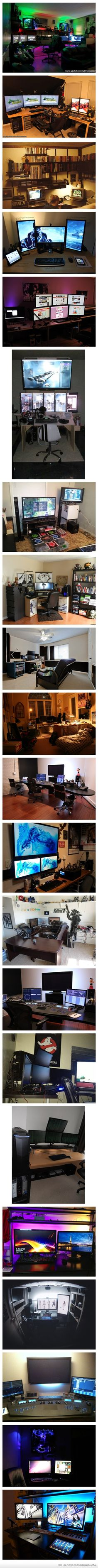 Man Your Battle Stations! Not sure I'd leave my room... ever...