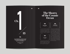 editorial layout CosmosRevisited and Redesigned by Flora Chan, via Behance Layout Design Inspiration, Logo Inspiration, Book Design Layout, Print Layout, Editorial Design Layouts, Magazine Layout Design, Identity Design, Identity Branding, Visual Identity