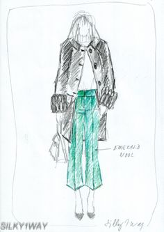 green pants (thick virgin wool) Green Pants, Emerald Green, Wool, Outfits, Outfit, Clothes, Clothing, Style, Giyim