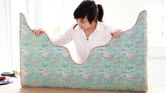How To Make an Upholstered Cornice. It's easy!