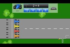 1000 images about apps math multiplication division on pinterest multiplication - Times table racing car game ...