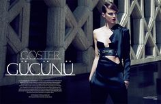 Shannan Click by Sofia Sanchez and Mauro Mongiello for Vogue Turkey October 2012
