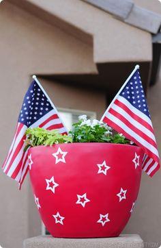 Patriotic-ness around these parts!