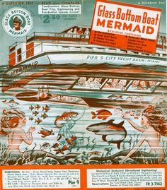 More vintage Florida mermaids
