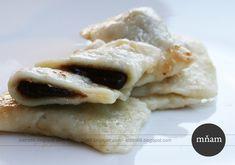 Typické slovenské jedlo, stvorené na sobotný obed. So slivkovým lekvárom sú famózne :) Ingrediencie * 150 g hladkej múky * 150 g... Pancakes, Chicken, Breakfast, Food, Basket, Morning Coffee, Essen, Pancake, Meals