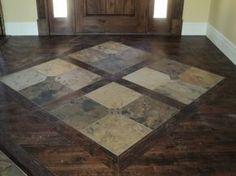slate and hardwood floor - Google Search