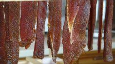 Как сделать Chilli Bites. Второй этап: вяленье и сушка мяса. How to make...