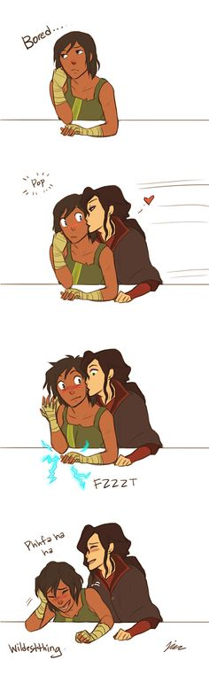 wildestthing: Way to turn the Avatar on Asami XD I had to draw something to celebrate the ending. I promise I'll stop with the LOK soon… maybe… ehhh…