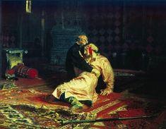 Ilya Repin - Ivan the Terrible and His Son Ivan on November 16, 1581.