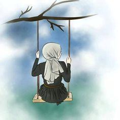 all kind wallpaper in here ✨ -just request if you want any wallpaper… # Rawak # amreading # books # wattpad Cartoon Kunst, Cartoon Art, Art And Illustration, Sarra Art, Hijab Drawing, Islamic Cartoon, Bff Drawings, Hijab Cartoon, Islamic Girl