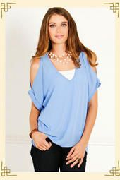 b58caa714d01f8 Cold Shoulder Blouse Cold Shoulder Blouse