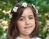 Couronne demoiselle d'honneur: Elfie : Accessoires coiffure par nuagecolore