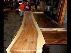 Natural Edge Wood Slabs